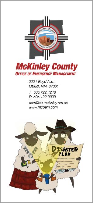 Emergency Supply Kit Rack Card