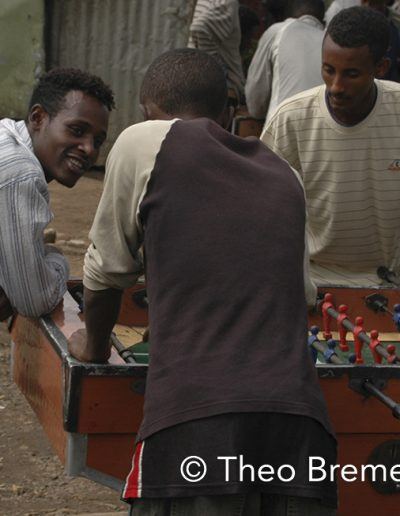 Foosball in the Rain