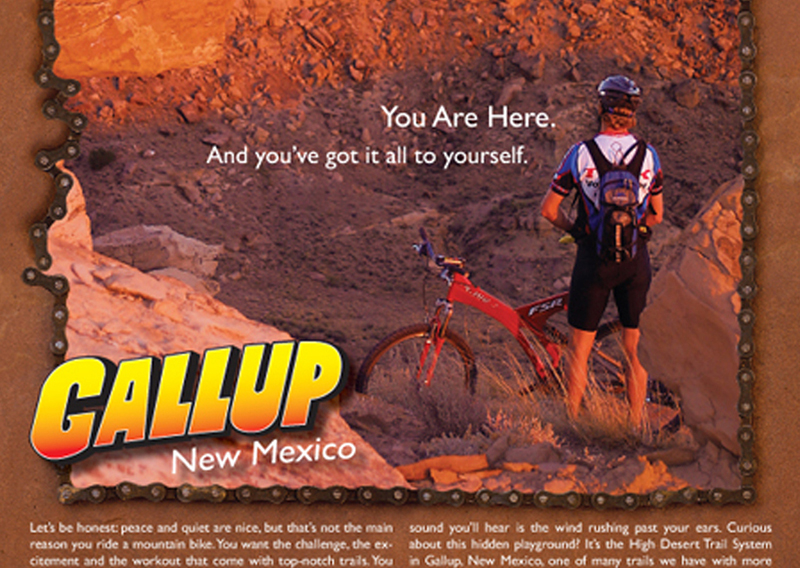 Gallup Bike Ad