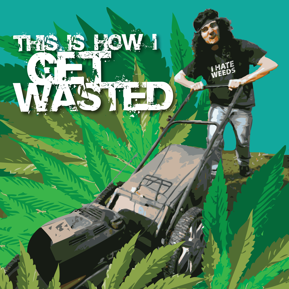 Mowing the Weed- anti-mariquana 100% Campaign