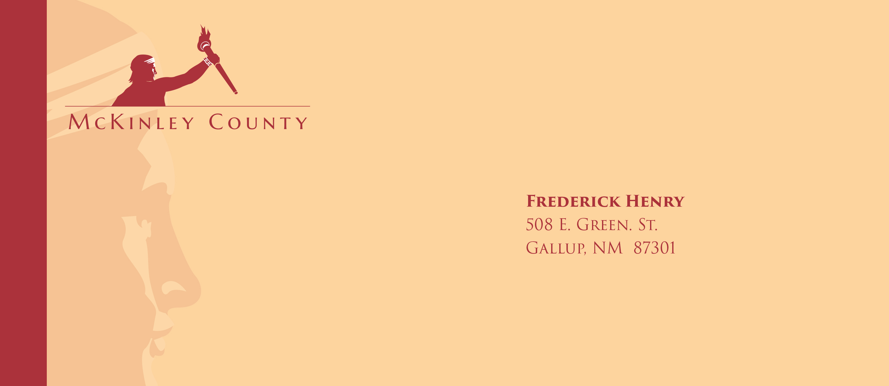 McKinley County Envelope Mockup