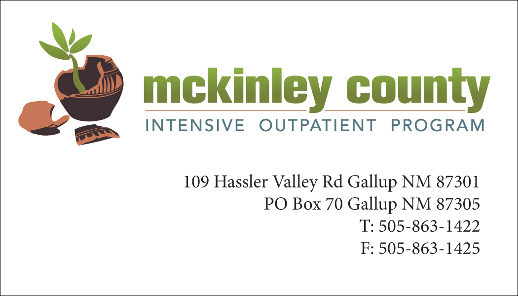 McKinley County IOP Business Card
