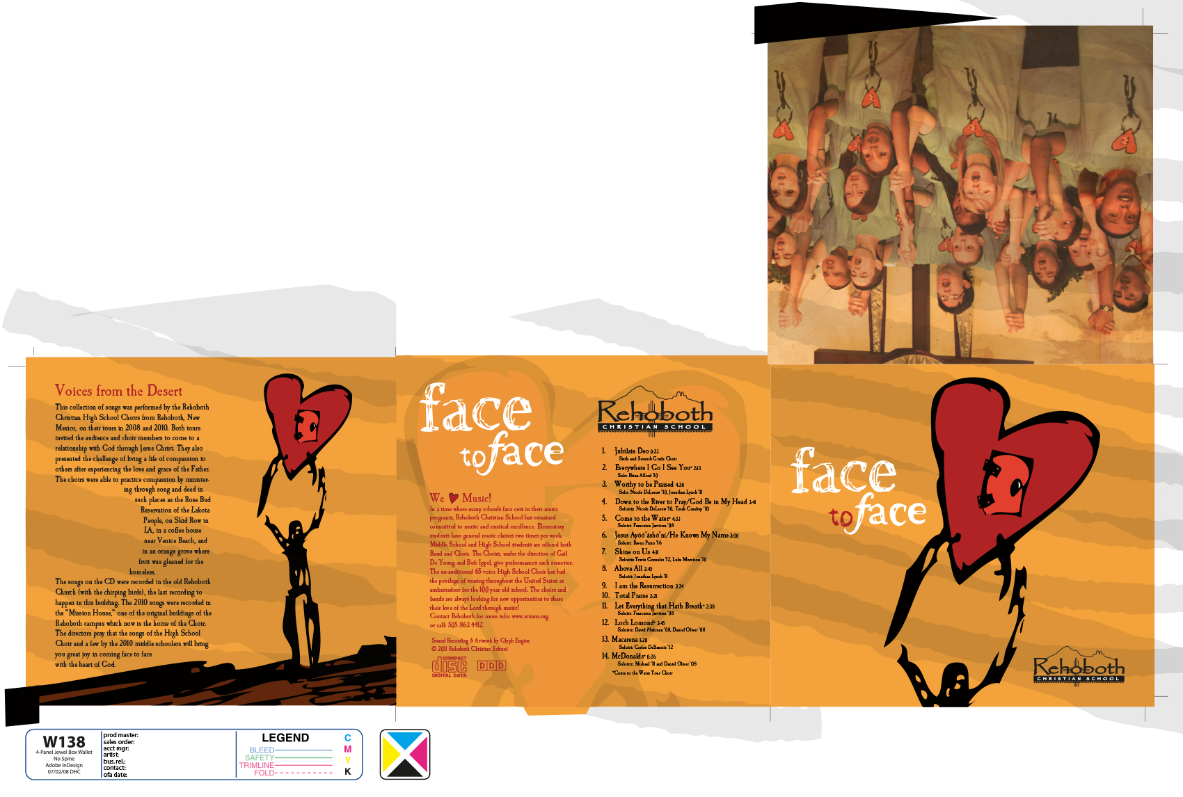 RCS FACE TO FACE CD