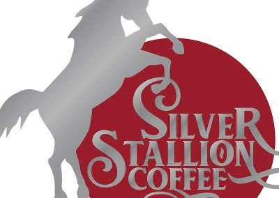 Silver Stallion Coffee Identity