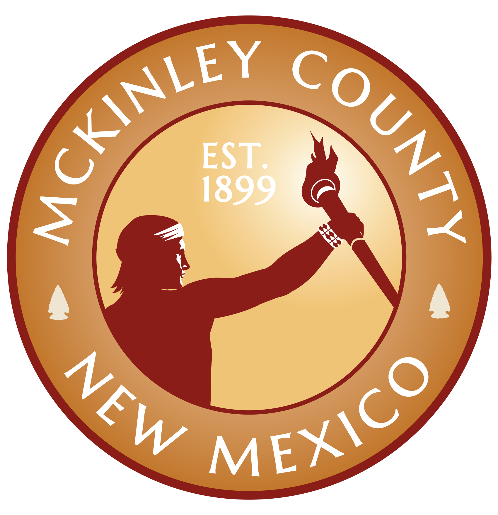 Mckinley County Seal