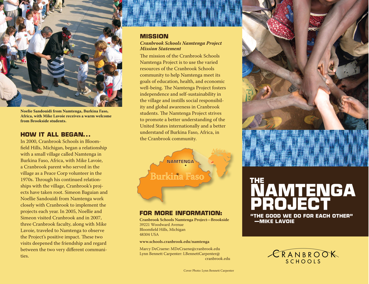 Namtenga Project Brochure