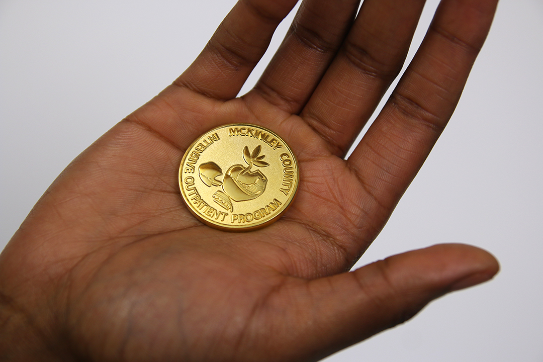 Sobriety Coin- front