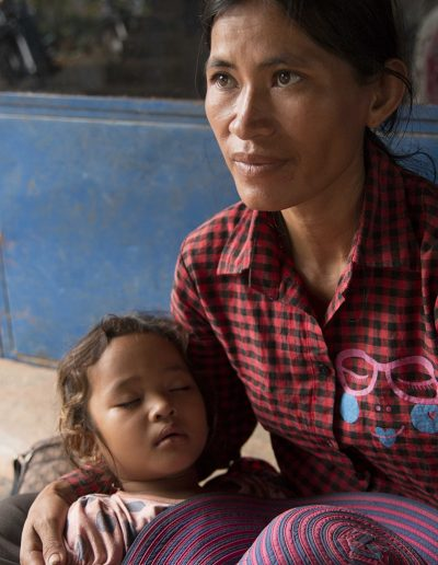 Khmer Mother and Child